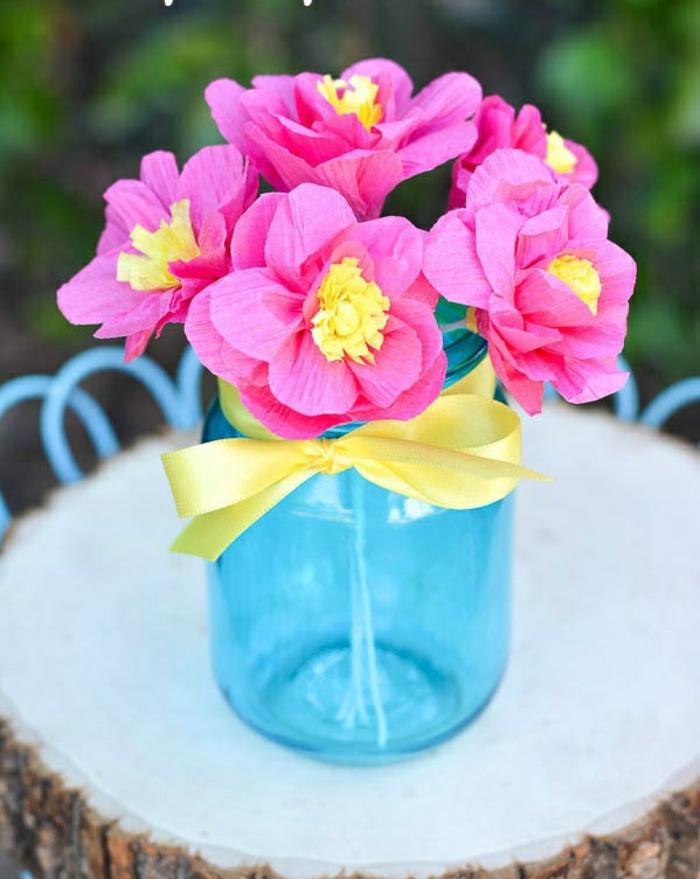 Comment Crer Une Fleur En Papier Crpon