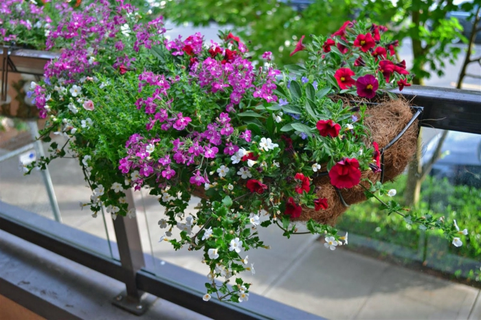 Comment Avoir Un Balcon Fleuri Ides En 50 Photos