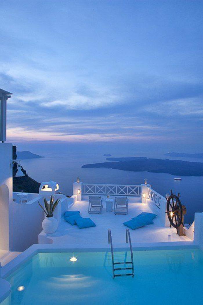 Dcouvrir le plus beau paysage depuis le balcon en photos