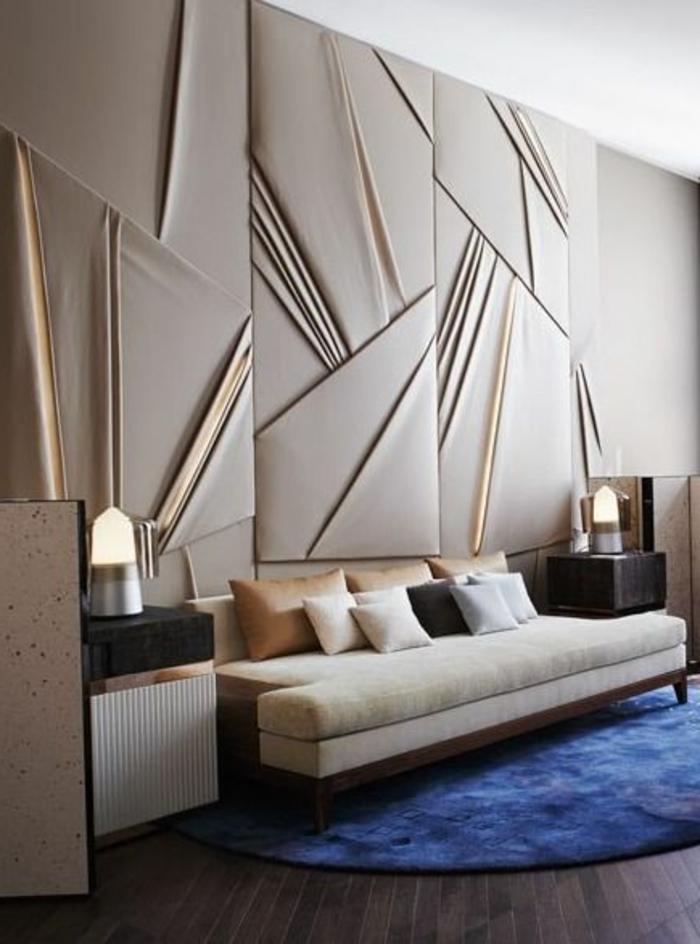 Le panneau mural 3d  un luxe facile  avoir