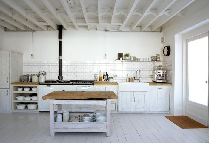 repeindre une cuisine en bois