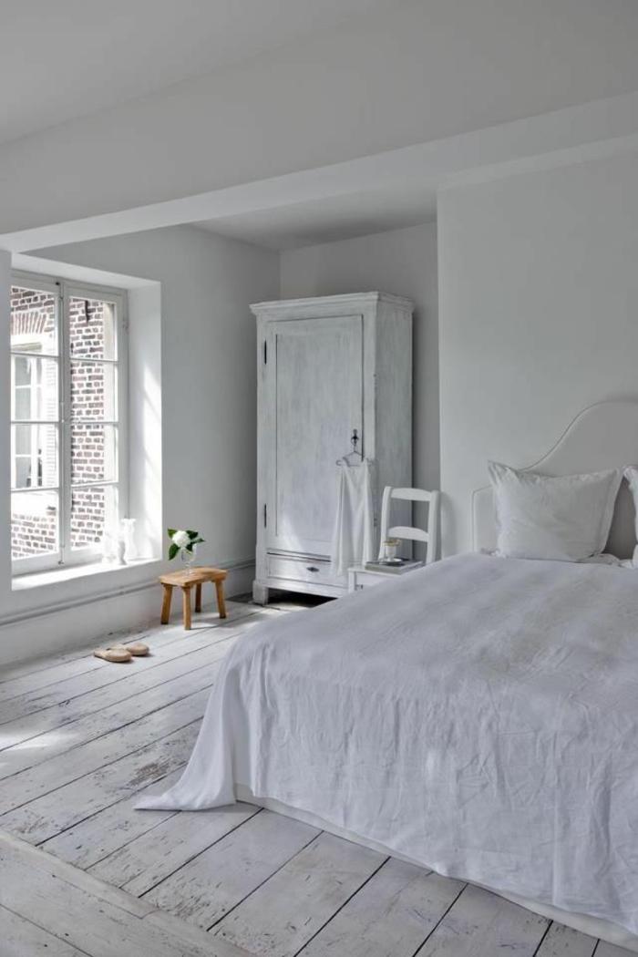 Le parquet blanc  une jolie tendance dco  Archzinefr