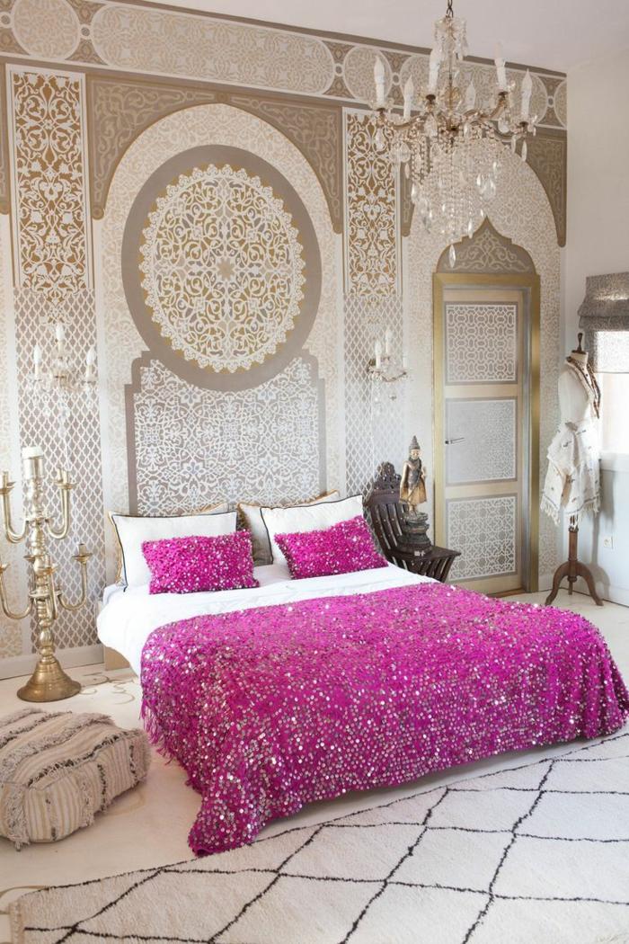 Le Pochoir Oriental Style Pour Vos Murs Et Pour Vos