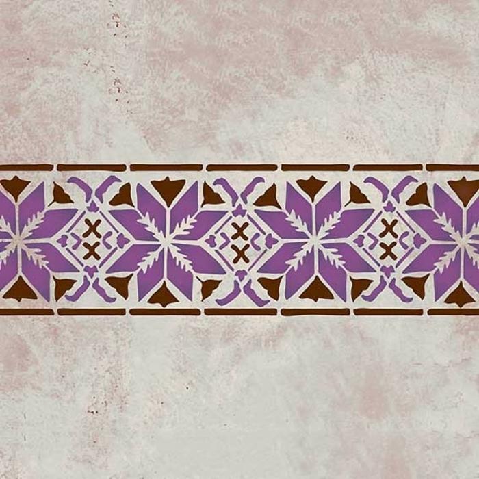 Le Pochoir Oriental Style Pour Vos Murs Et Pour Vos Mains