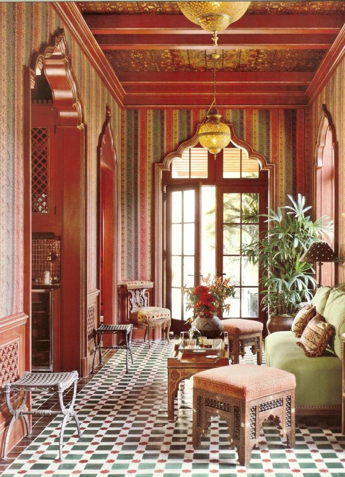 Le canap marocain qui va bien avec votre salon  Archzinefr