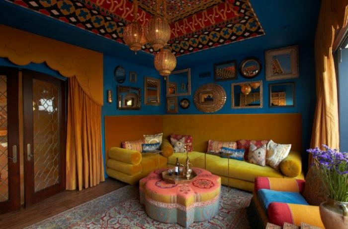 Le canap marocain qui va bien avec votre salon