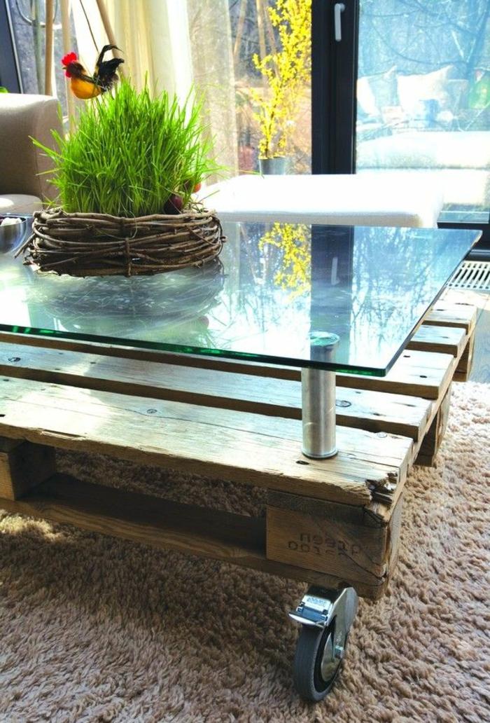 Plusieurs designs pour la table de salon en palette  Archzinefr