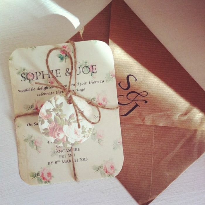 originale carte d invitation mariage
