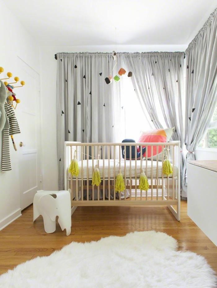 photos pour choisir les rideaux enfants