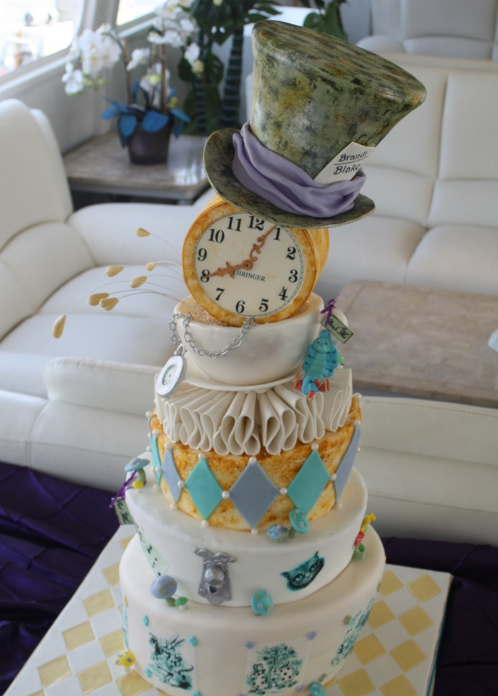 Mad Hatter Themed Baby Shower