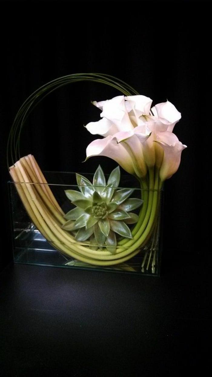 L art floral moderne  jolis arrangements de fleurs fraches