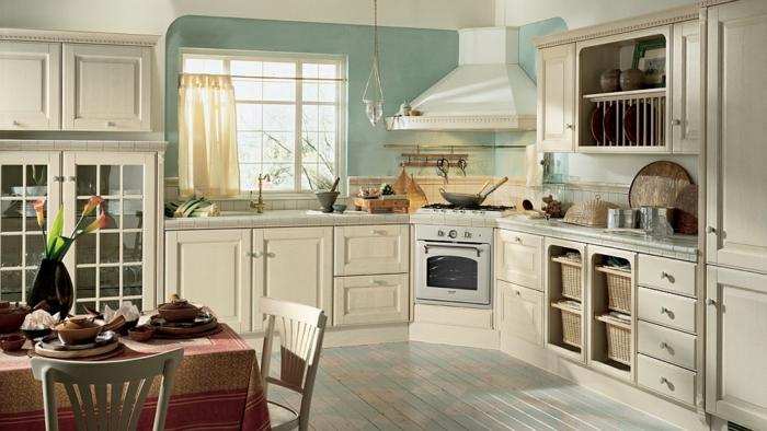 La cuisine style campagne  dcors chaleureux vintage  Archzinefr