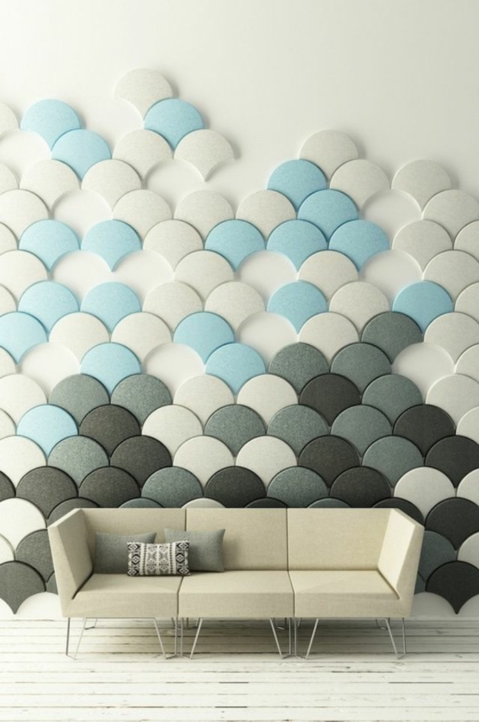 Le carrelage mural en 50 variantes pour vos murs