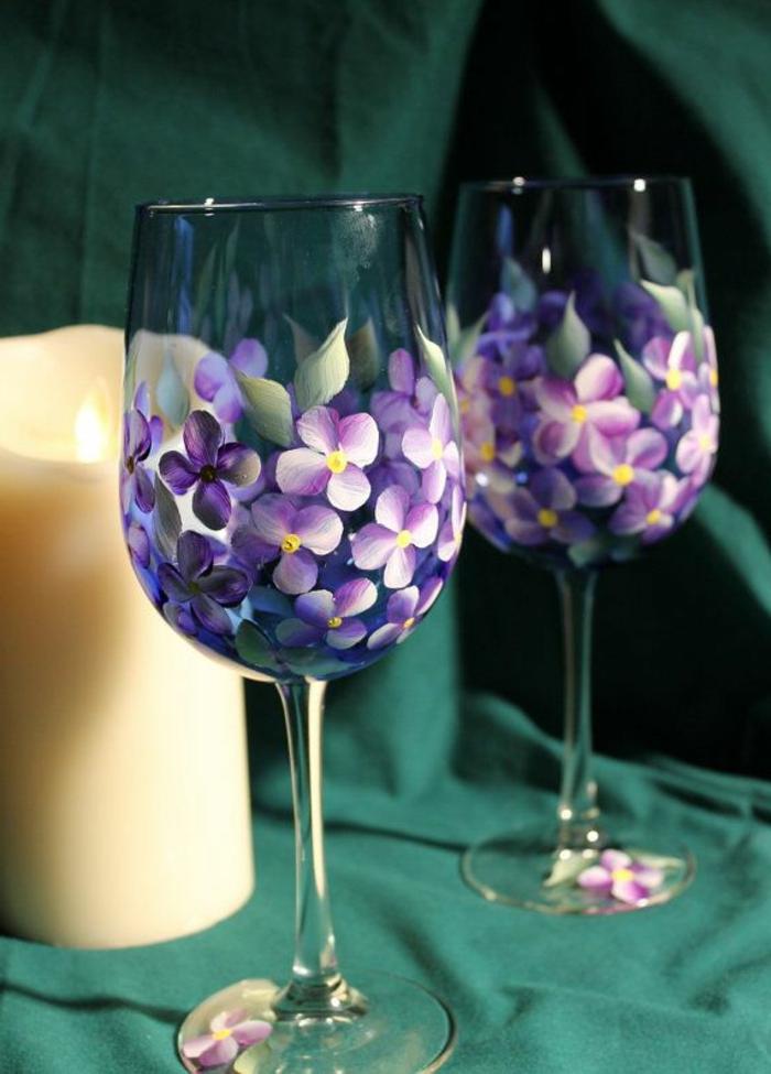 Les verres  vin comment les dcorez vousmmes