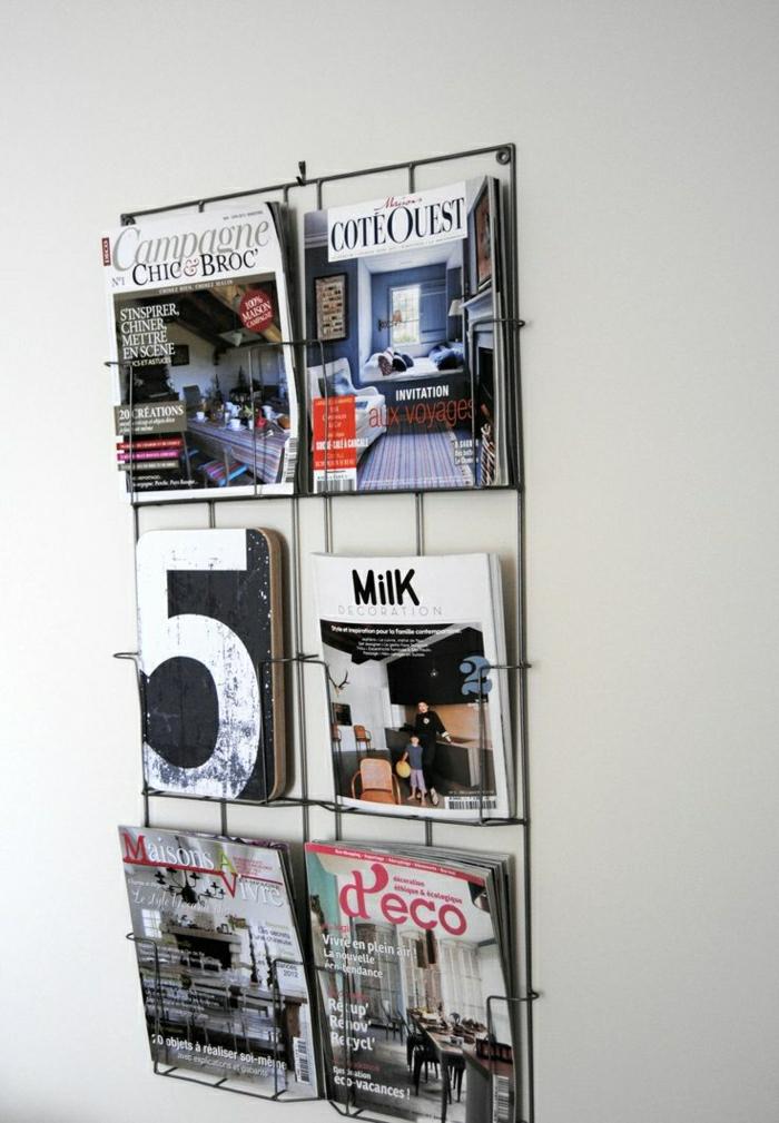 Le porte revue  un meuble et un objet dco en 40 images