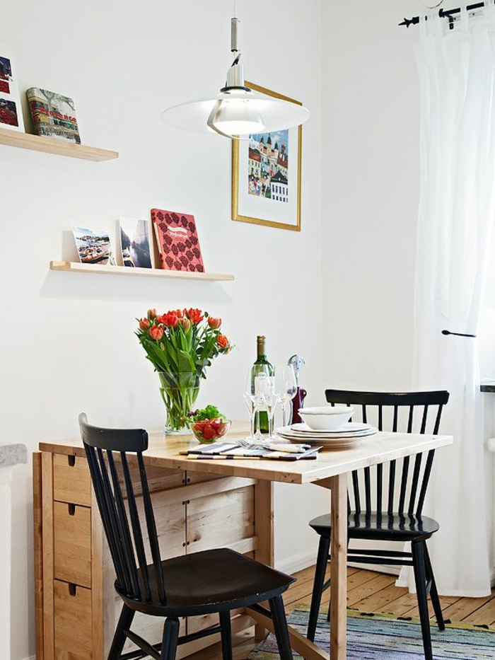 la table de cuisine pliante 50 idees