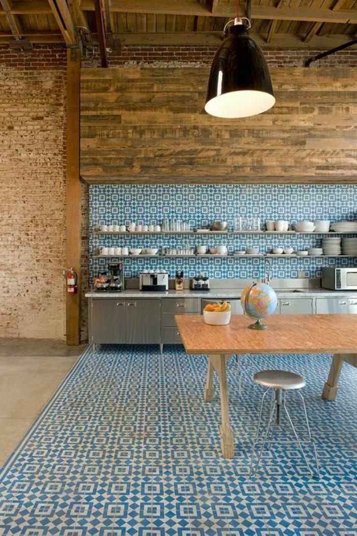 cuisine moderne bois massif