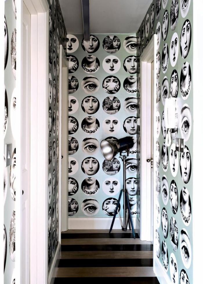 Choisir Un Papier Peint De Couloir Original Archzine Fr