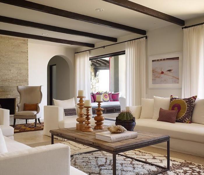 un salon marocain moderne