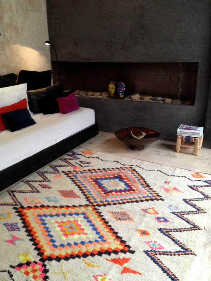 Savourer la beaut de tapis berbre en 44 photos