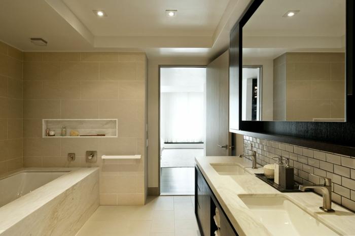 beaucoup d idees en photos pour une salle de bain beige