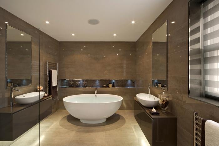 Badezimmer Travertin