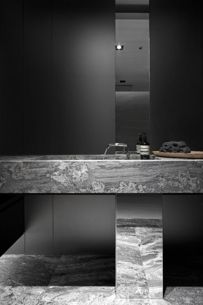Beaucoup dides en photos pour la salle de bain en marbre