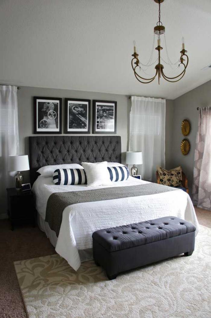 Quelle dcoration pour la chambre  coucher moderne