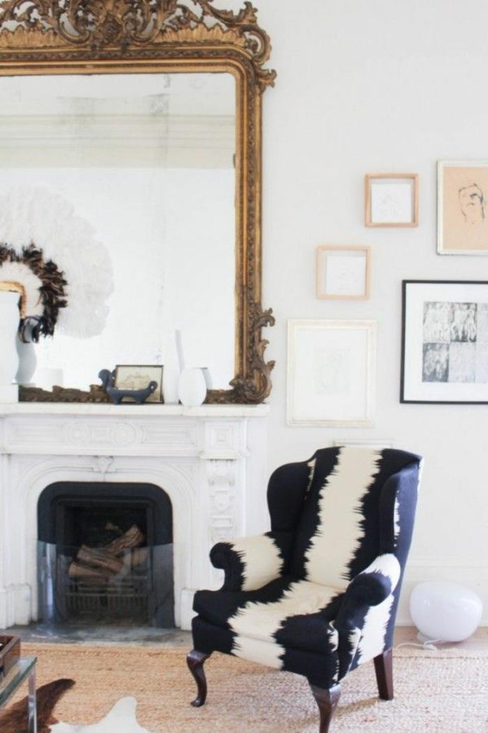 Le fauteuil zbre dans 40 photos inspirantes