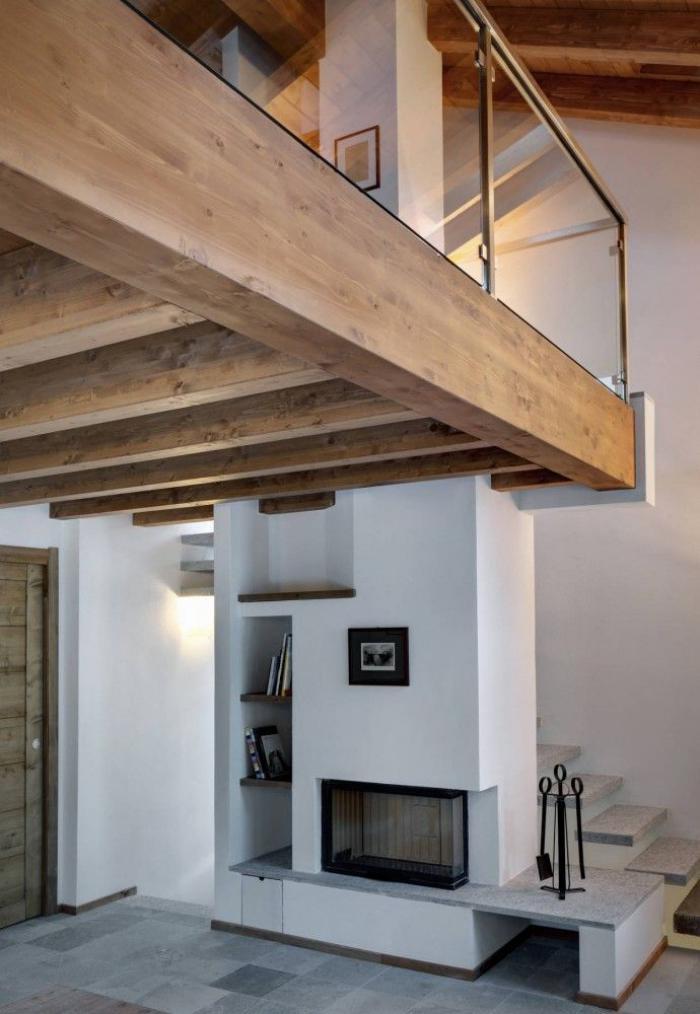 Le Garde Corps Mezzanine Jolies Idees Pour Lofts Avec Mezzanine Archzine Fr