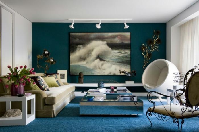 la meilleure idee peinture salon en 40 images