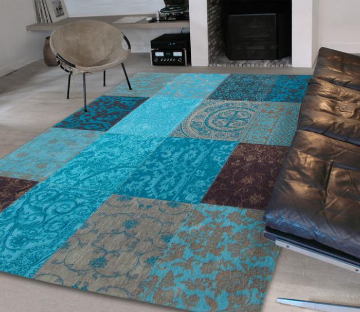Le tapis patchwork  une dcoration facile pour l