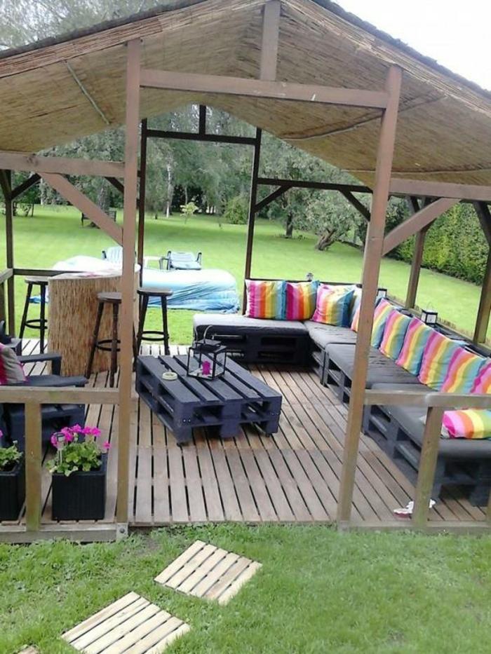 Les meilleures ides pour la terrasse en palette  Archzinefr