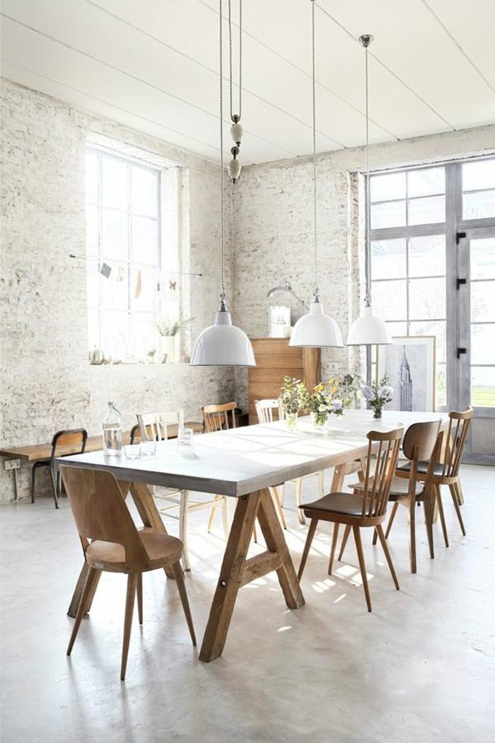 Esszimmer Einrichten Ideen  Modernes Wohnzimmer Mit Garage