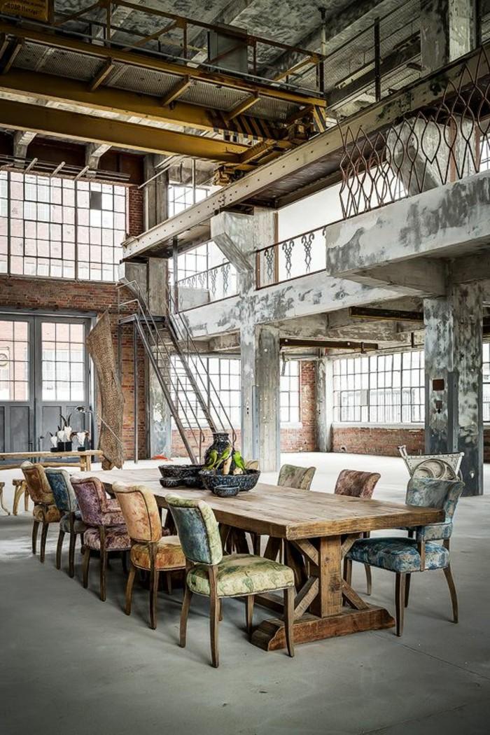 Mille et une ides pour le salon style industriel en 44 photos