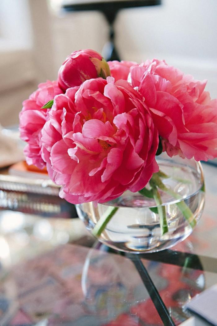 Schnittblumen Vase