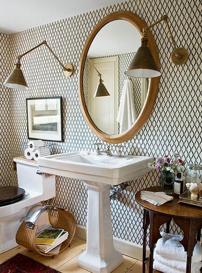 Papier peint pour salle de bain  45 ides magnifiques  Archzinefr