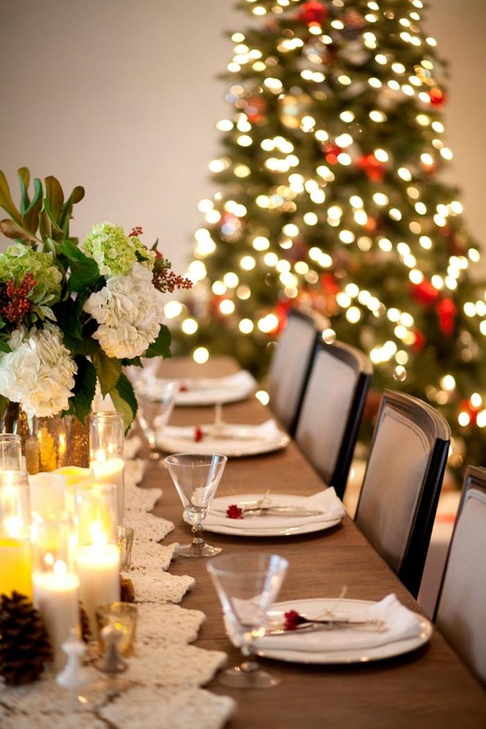 La dcoration de table de Nol  43 ides que vous allez aimer  Archzinefr