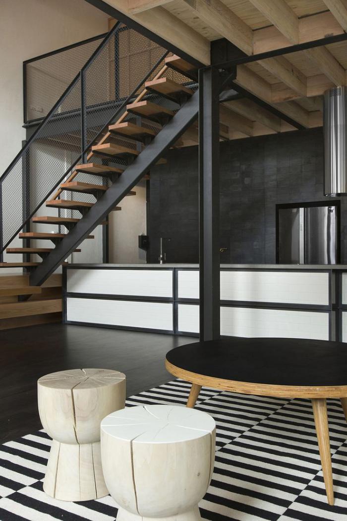 Les beaux designs d escalier mtallique  Archzinefr