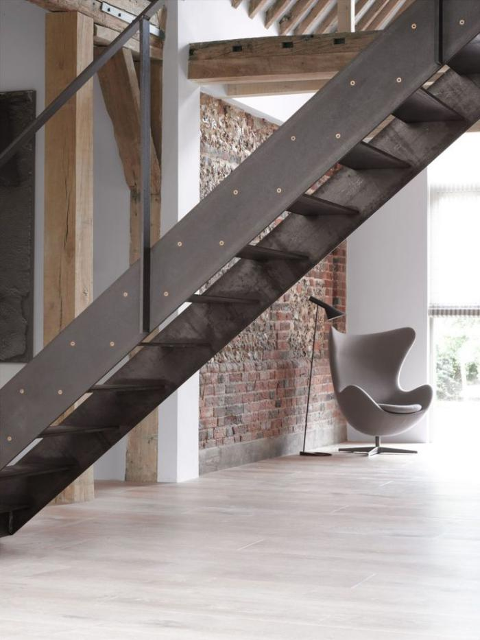 Les beaux designs d escalier mtallique