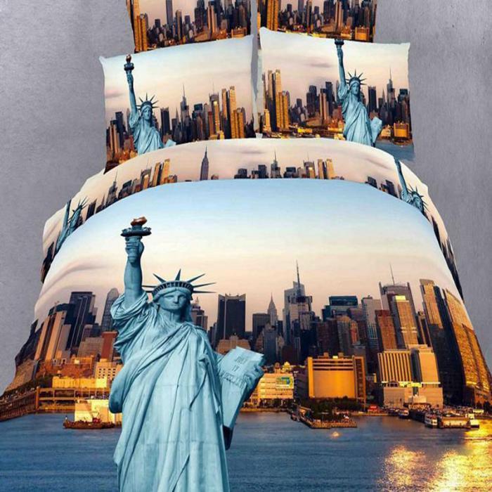 La Housse De Couette New York Un Beau Style Pour La