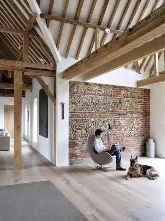 Les vieilles granges transformes en maisons lofts