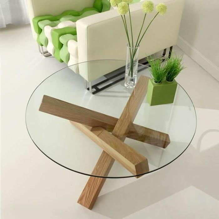 Design Table De Salon Table Basse Bois