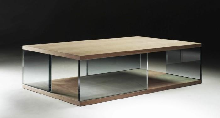 la table basse bois et verre en 43