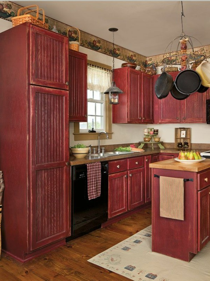 comment peindre une cuisine en bois