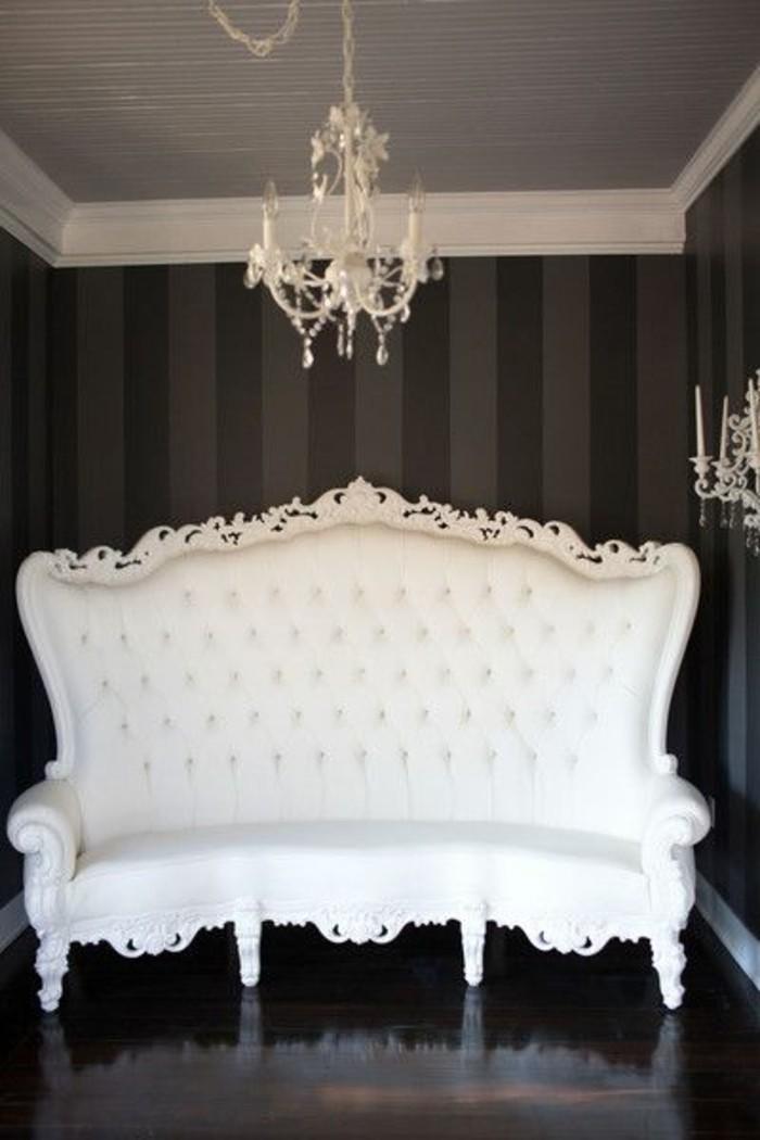 Deco Salon Fauteuil Noir - Décoration de maison idées de design d ...