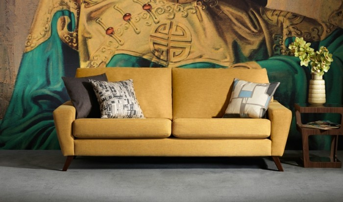 Un canap vintage pour votre salon moderne  Archzinefr