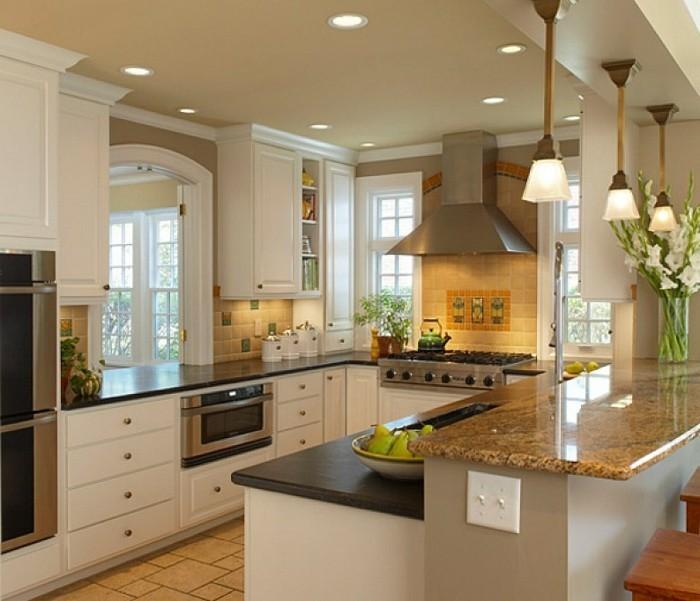 L Shaped Kitchen 3d Design