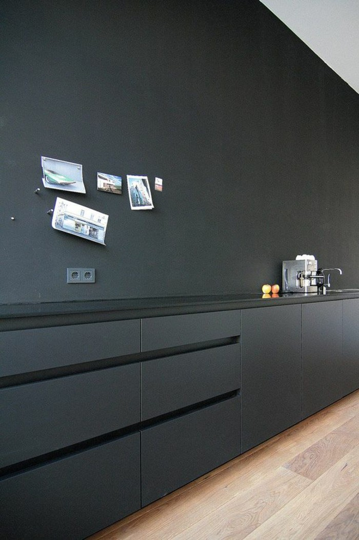 Le gris anthracite en 45 photos dintrieur
