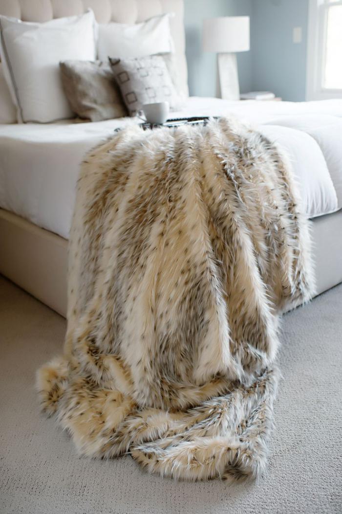 Le Plaid Fausse Fourrure Confort Pour Vous Et Style